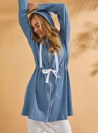 Baby Blue - Cotton - Tunic