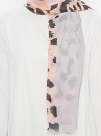 Pink - Leopard - Shawl