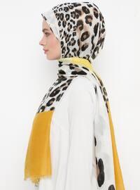 Yellow - Leopard - Shawl