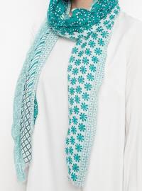 Green - Polka Dot - Shawl