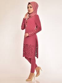 Unlined - Dusty Rose - Evening Suit