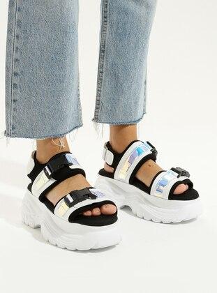 Gray - High Heel - Sandal - Sandal