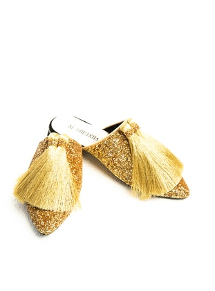 Gold - Sandal - Slippers