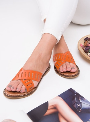 Terra Cotta - Sandal - Slippers
