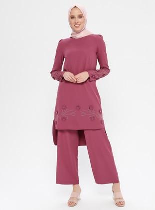 Dusty Rose - Unlined - Suit