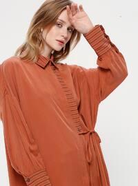 Terra Cotta - Point Collar - Tunic