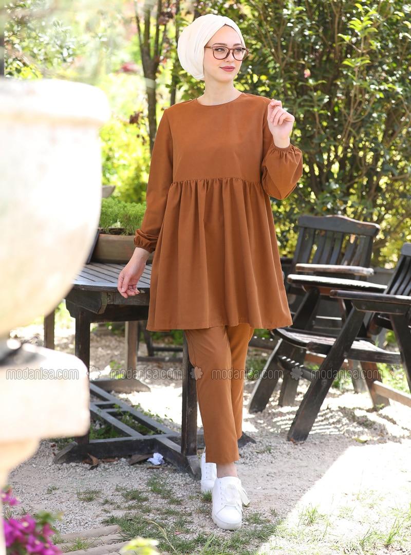Tütün - Astarsız kumaş - Pamuk - Takım Elbise