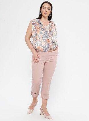 Pink - Plus Size Pants