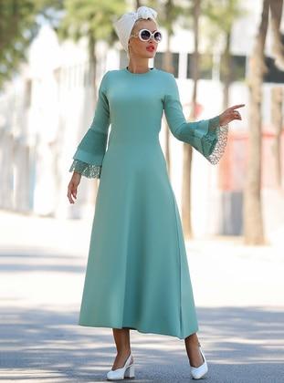 9ee3104afe77b Myzen Tesettür Elbise Modelleri ve Fiyatları - Modanisa.com