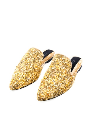 Handmade Yellow - Sandal - Slippers