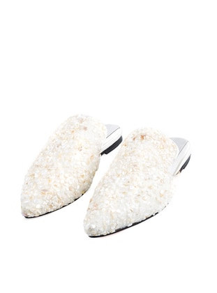Handmade White - Sandal - Slippers