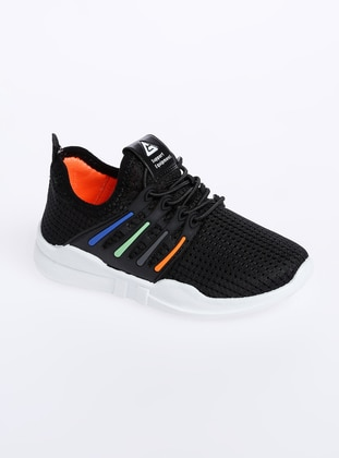 Black - Sport - Boys` Shoes - Gezer