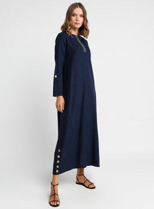 9473dea4d أزرق داكن فستان Modelleri ve Fiyatları - Modanisa.com