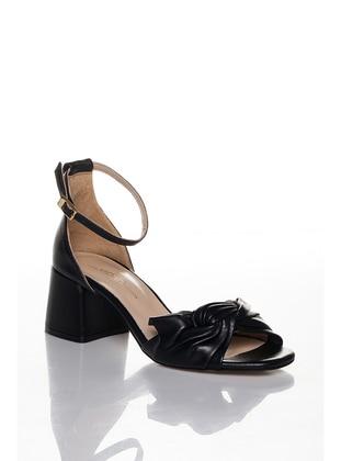 Black - High Heel - Sandal - Heels