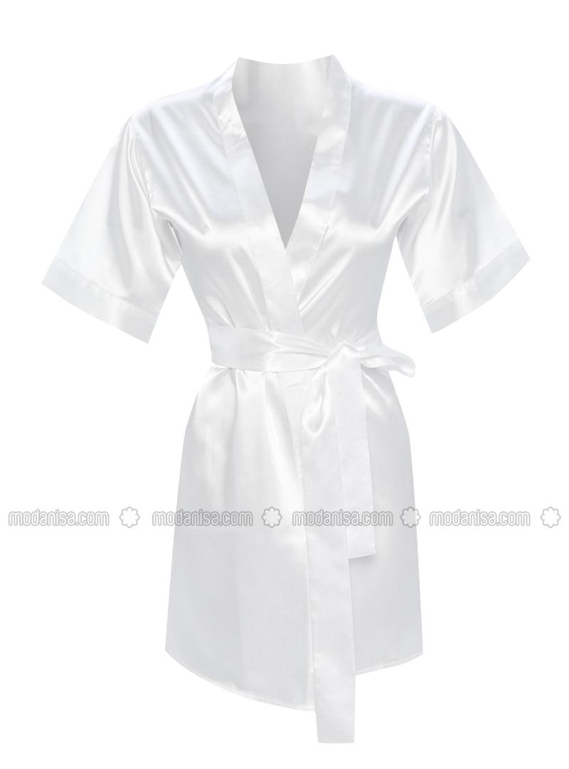 Fuchsia - Cream - Morning Robe
