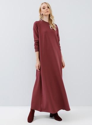 Cherry - Crew neck - Unlined -  - Dress