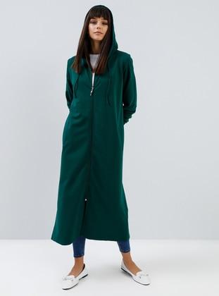Green - Emerald - Unlined -  - Topcoat