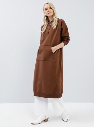Brown -  - Tunic