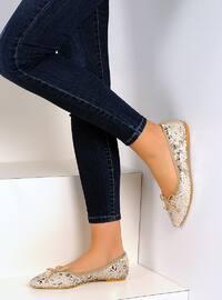 Beige - Flat - Shoes