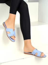 Blue - Sandal - Slippers