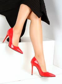 Red - High Heel - Heels