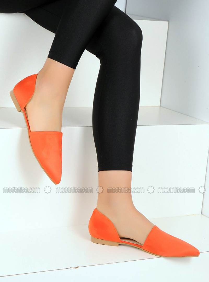 Orange - Casual - Shoes