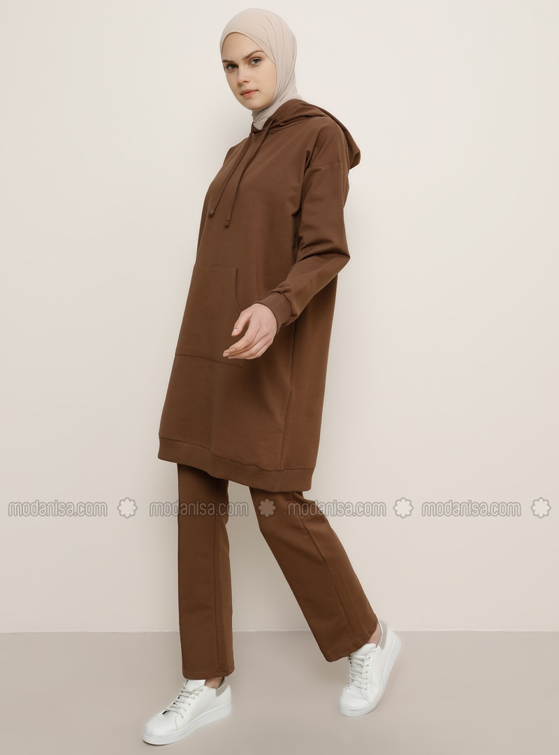 Brown -  - Tracksuit Bottom