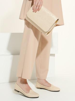 Beige - Flat - Suit