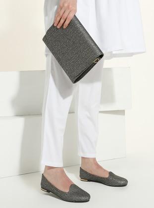 Silver - Flat - Suit