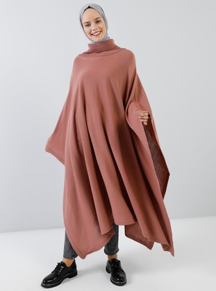 Powder - Polo neck - Unlined -  - Poncho