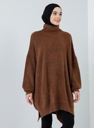Copper - Polo neck - Acrylic -  - Tunic
