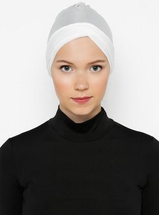 Cream - Plain - Bonnet -  Bone