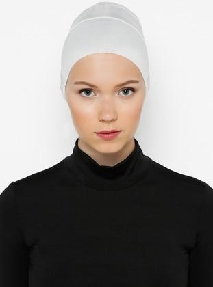 Cream - Lace up - Bonnet