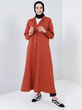 Terra Cotta - Unlined - Cotton - Topcoat