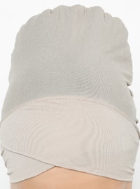 Mink - Plain - Bonnet - Bone