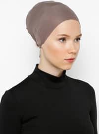 Mink - Lace up - Bonnet - Bone