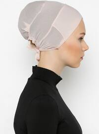 Powder - Lace up - Bonnet - Bone