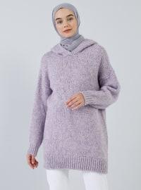 Lilac - Acrylic - - Tunic