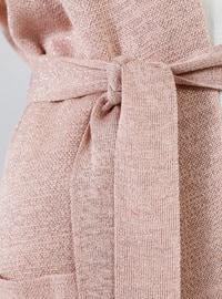 Powder - Acrylic - Metal Thread - - Viscose - Cardigan