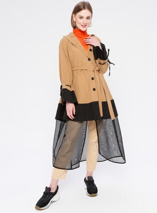Camel - Unlined - Trench Coat