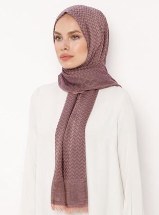 Dusty Rose - Plain - Cotton - Shawl