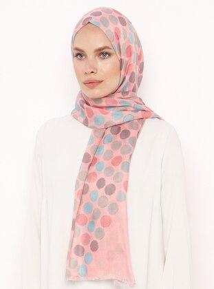 Pink - Polka Dot - Shawl
