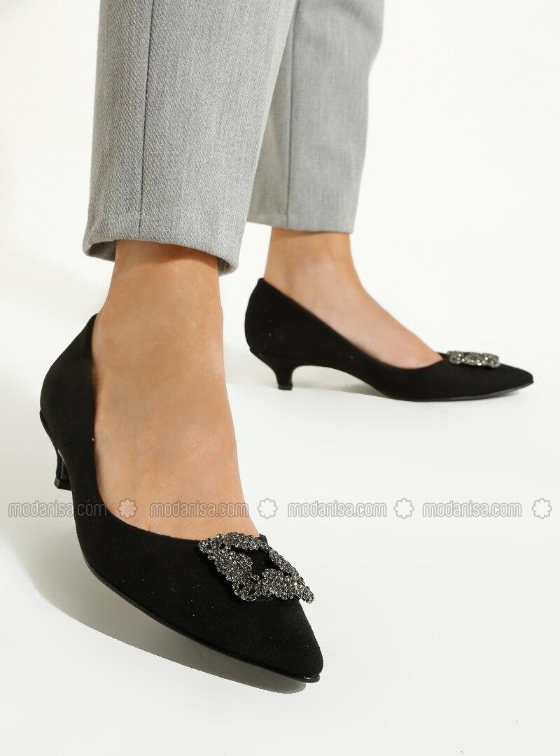 Black - High Heel - Shoes