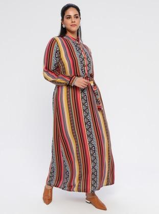 Muslim Plus Size Dresses - Islamic Clothing - Modanisa.com