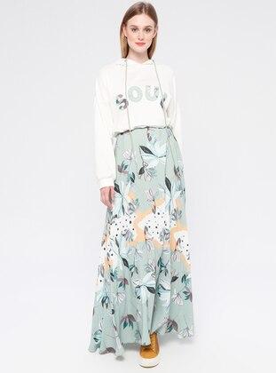 Green Almond - Multi - Unlined - Dress
