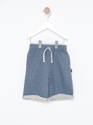 - Unlined - Blue - Boys` Shorts