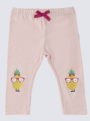 Cotton - Pink - Baby Pants