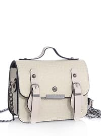 Beige - Shoulder Bags
