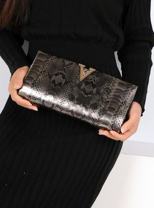 White - Silver tone - Clutch Bags / Handbags
