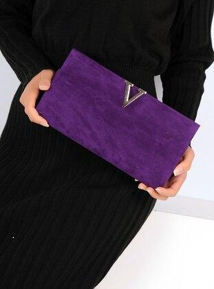 Purple - Clutch Bags / Handbags